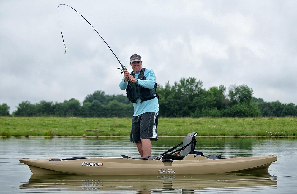 Predator 13 ottawa valley canoe and kayak for Predator fishing kayak