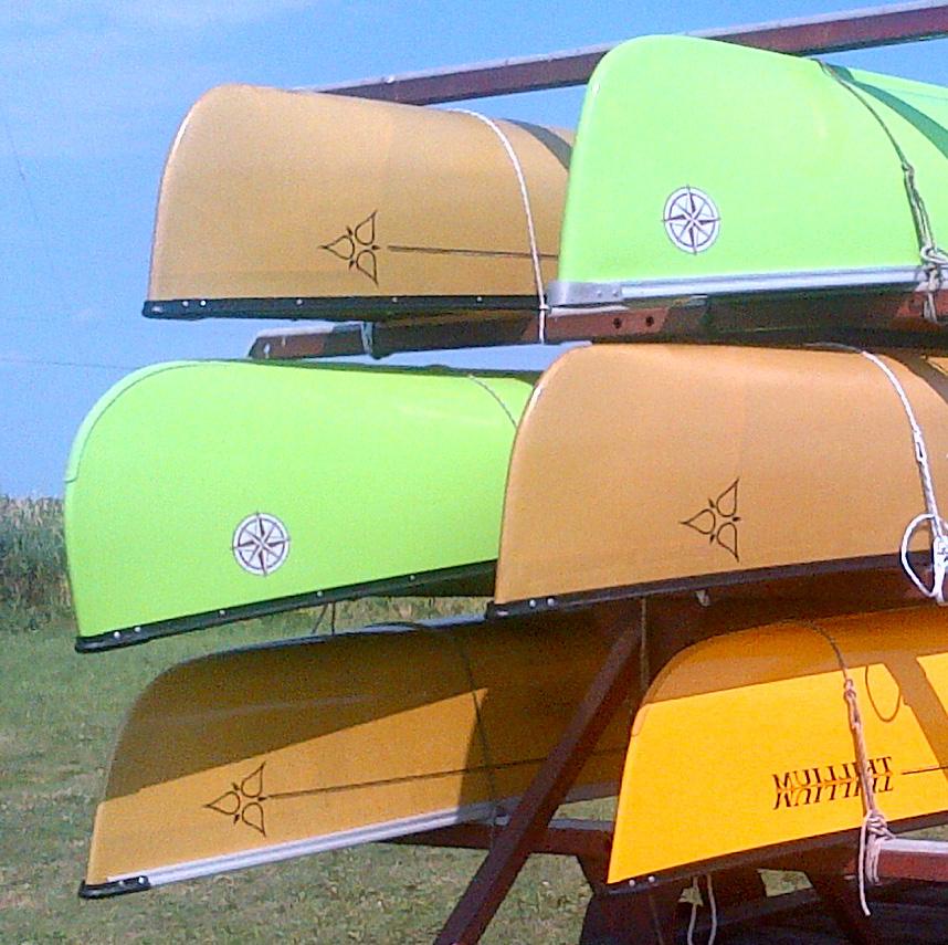Canoes in Stock